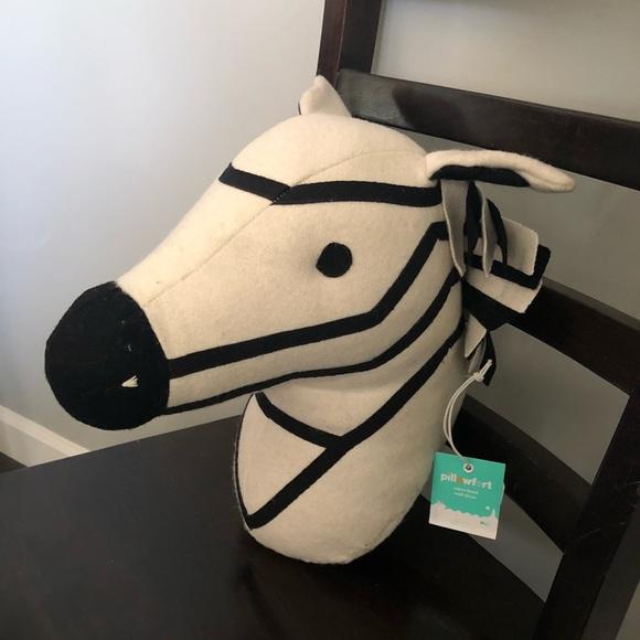 Pillowfort Other | Zebra Head Wall Decor Nwt | Poshmark